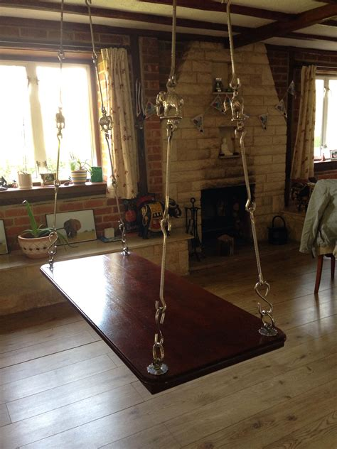 My luxury! Indian swing made with American Teak and