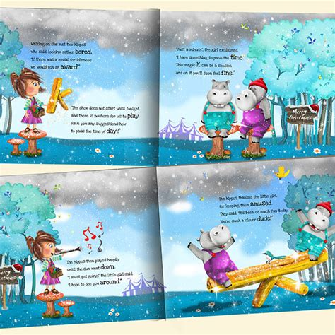 Premium Personalised Christmas Story Book for Children