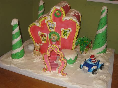 Whoville Gingerbread   My entry for a local gingerbread