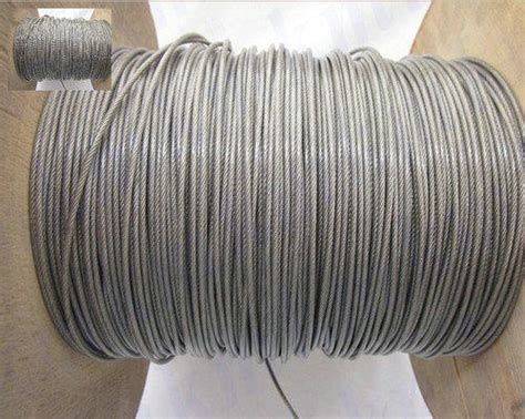 PVC Coated Wire Rope - PVC Coated Wire Ropes Exporter from