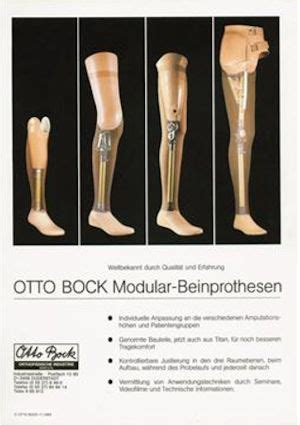 Ottobock Prosthetic Legs - A 100 Year History | Disabled World
