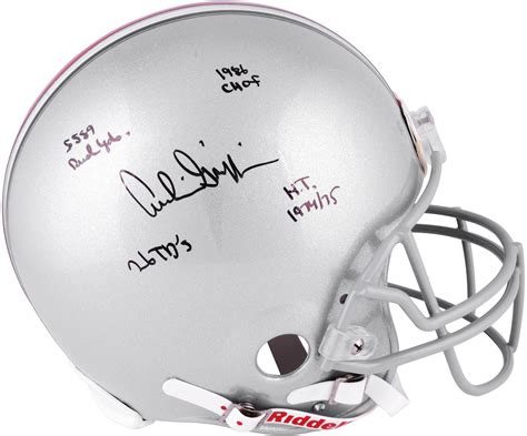 Archie Griffin Ohio State Buckeyes Autographed Riddell Pro