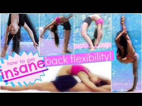BACK STRETCHING: How to get INSANE, CONTORTIONIST Back and