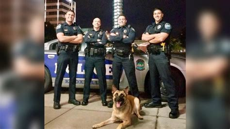 Knoxville, Tennessee says it has hot cops too in buff