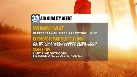 Air Quality Alert issued for entire Central Valley as