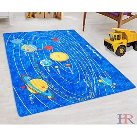 Solar System Kids Educational play mat For School