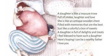 Father Daughter Poems | Image & Text Poems On QuoteReel