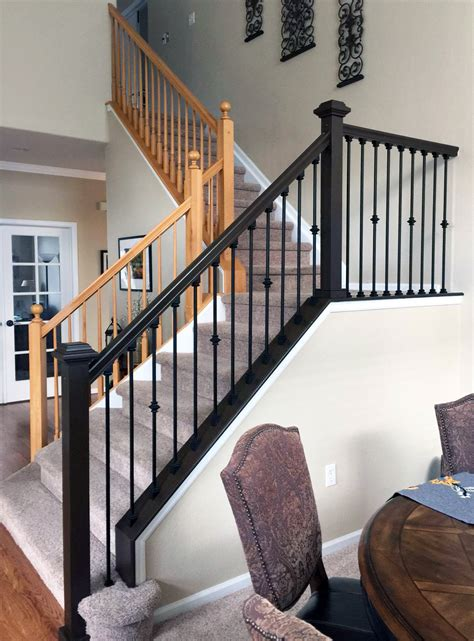 Antique Walnut Gel Stained Stairs | General Finishes
