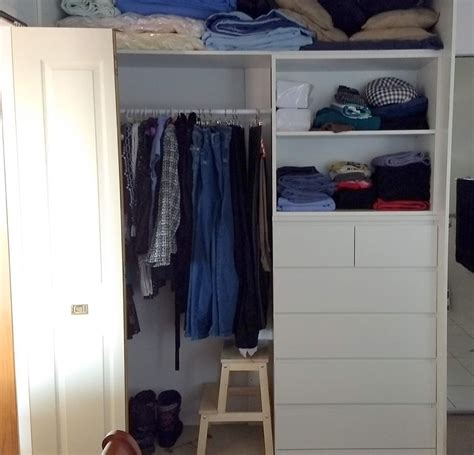 Add drawers for closets aka IKEA hack your built-in wardrobe