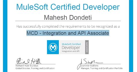 EAI Solutions by Mahesh : How to become MuleSoft Certified