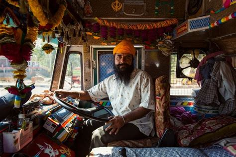 Horn Please: The colorful band of Indian truck drivers