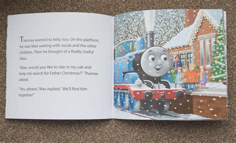 Review: personalised Thomas & Friends Christmas book