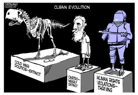 Cartoon Exposes The Evolution of Political Freedom in Cuba