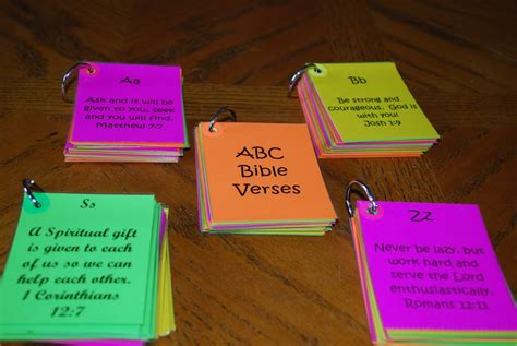 A Day In The Life Of This Mom: ABC Bible Verse Flash Cards