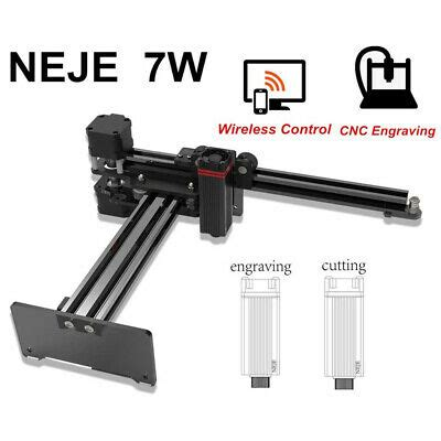 7W Engraver Wireless CNC Mini Carver For Wood Cutting Suit