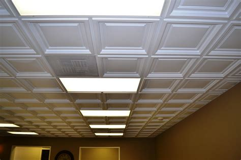 Westminster Coffered Ceiling Tile - InterSource