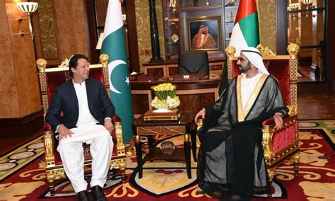 Imran Khan meets UAE prime minister amid reports of