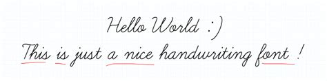 Learning Curve - A Nice Handwriting Font | HTML-TUTS