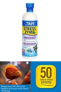 API STRESS ZYME Freshwater and Saltwater Aquarium Cleaning