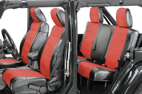 Coverking Front & Rear Leatherette Seat Covers for 2002