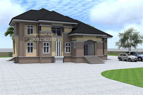 5 Bedroom Split Level Bungalow - Modern and contemporary
